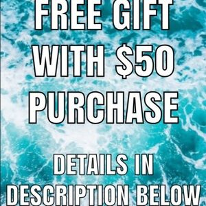 Other - Spend over $50 and you can choose your free gift